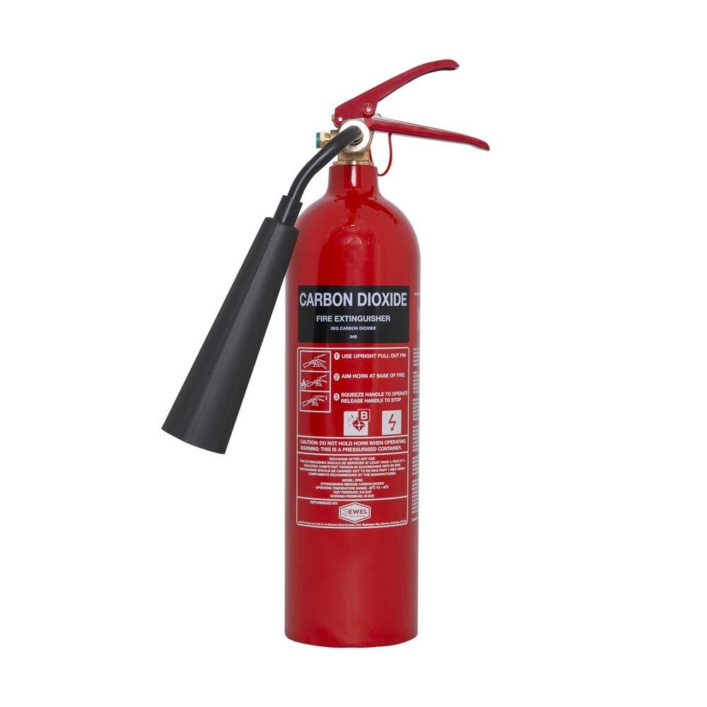 2kg CO2 Fire Extinguisher - Jewel Fire Group