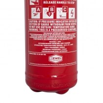 Extinguisher Rating 13A, 70B and C