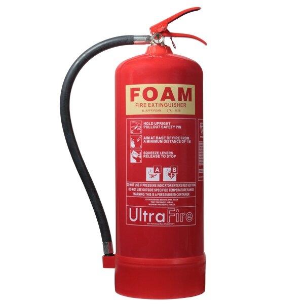 9ltr Foam Fire Extinguisher - Ultrafire