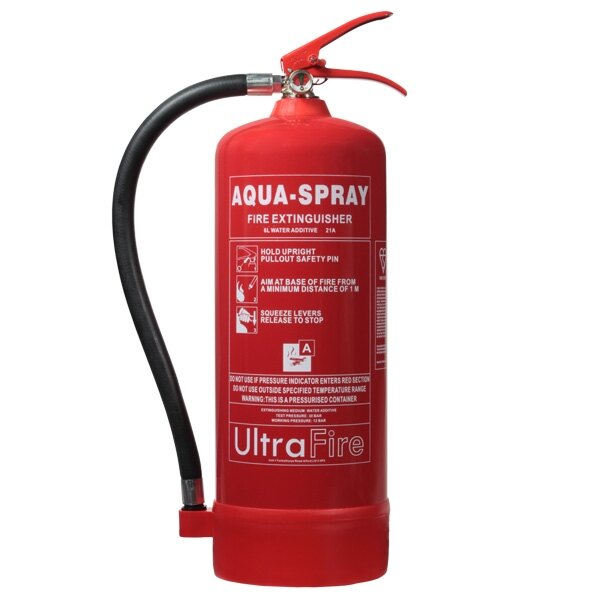 6ltr Water Additive Fire Extinguisher - Ultrafire