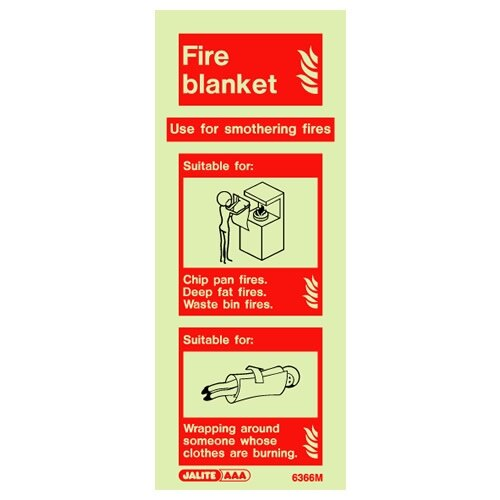 Fire Blanket Wall Sign