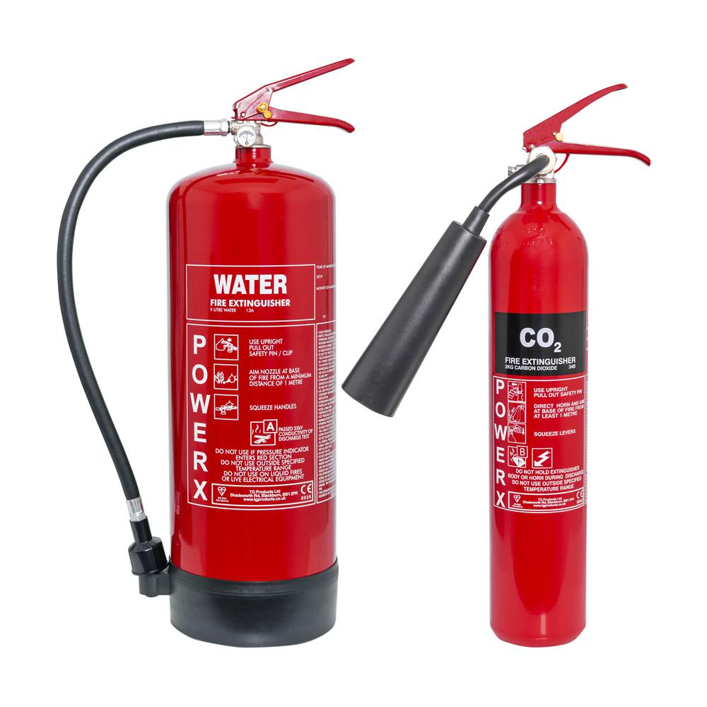 2kg CO2 + 9ltr Water