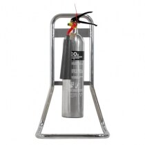 Suitable for single fire extinguishers up to 9kg/9ltr in size