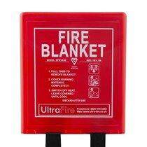 1.0 x 1.0m UltraFire Fire Blanket