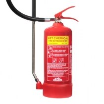 Image of the 3ltr Wet Chemical Fire Extinguisher - Jewel Saffire