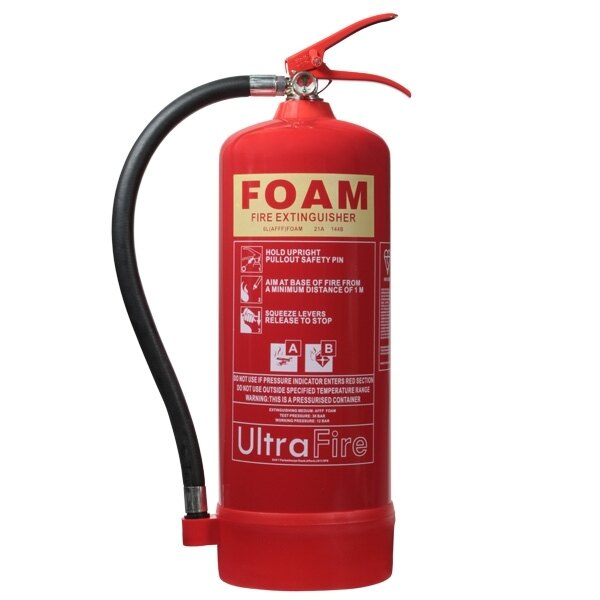 6ltr Foam Fire Extinguisher - Ultrafire