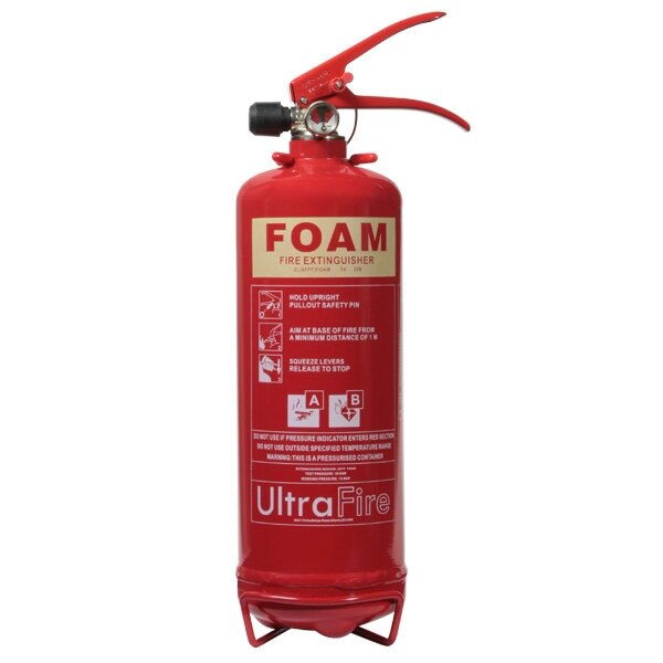 2ltr Foam Fire Extinguisher - Ultrafire