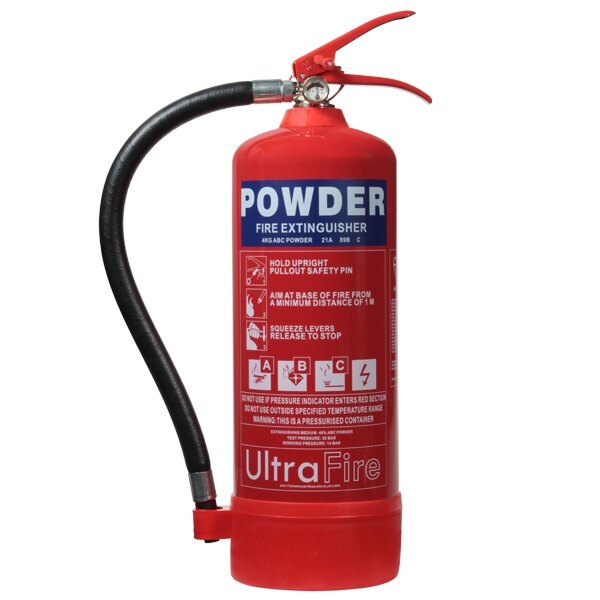 4kg Powder Fire Extinguisher - Ultrafire