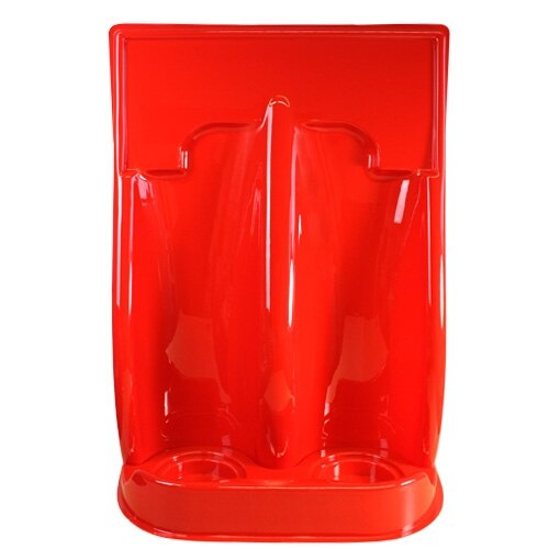 Image of the Double Universal Economy Fire Extinguisher Stand