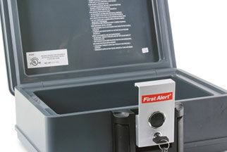 Fireproof and Fire and Waterproof Chests from Sentry and Honeywell