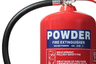 Powder extinguishers from Jewel Saffire at budget prices